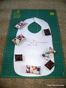 *With Heart and Hands* : Making an Adult Bib