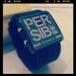Jam tangan digital Persib IDR75000 sms 083821737397 www.roxstore.com
