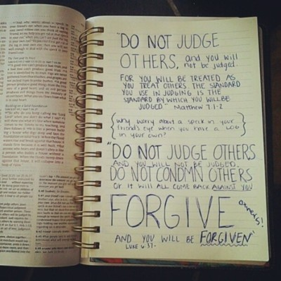 FORGIVENESS is KEY to and the basis of ANY relationship!