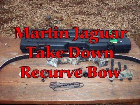 Martin Jaguar Takedown Recurve Bow - YouTube Get Recurve Bows at https://www.etsy.com/shop/ArcherySky