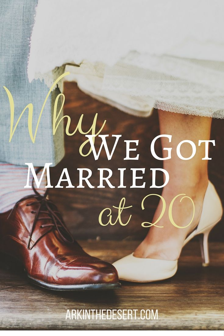 Why we got married at 20. The scoop on young marriage and some advice and encouragement for those thinking about it.