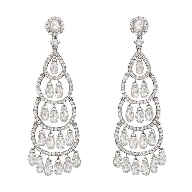 74 best diamond chandelier earring perpetual elegance images on betteridge collection cascading briolette drop diamond chandelier earrings mozeypictures Image collections