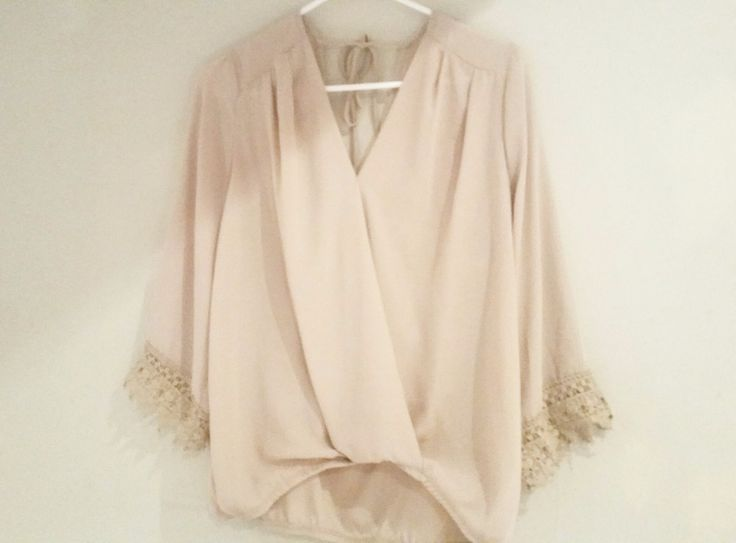 Women's Plus Size Wrap Blouse Semi Sheer Loose Lace 3/4 Sleeve 2X Career Work   Clothing, Shoes & Accessories, Women's Clothing, Tops & Blouses   eBay!