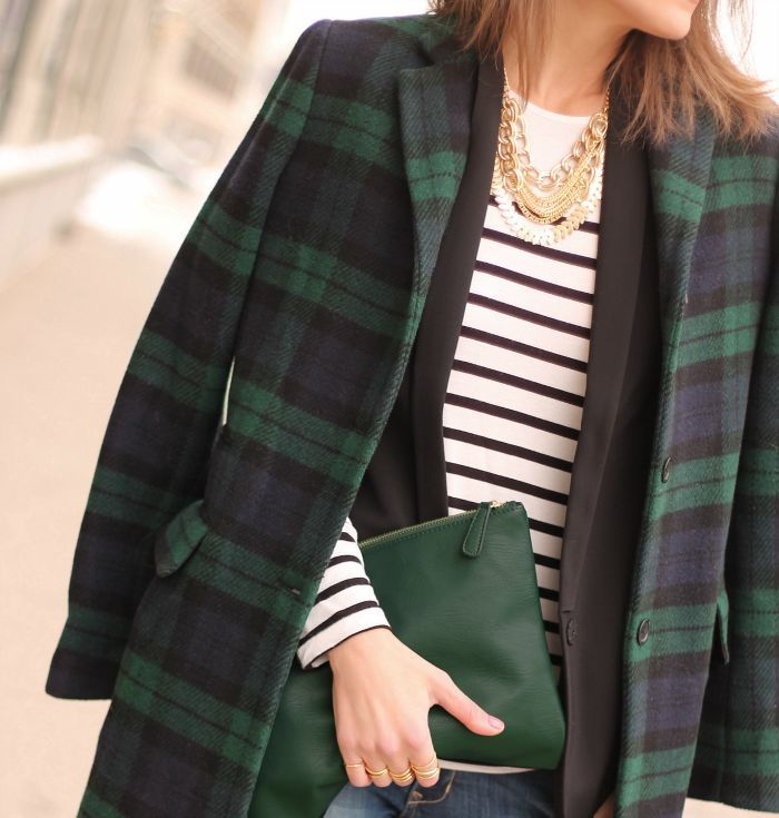 Franco-Saxon Love Affair- Breton Stripes and Scottish Plaid