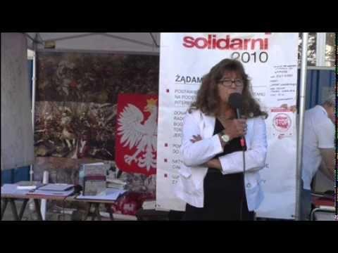 Dr Ewa Kurek: Żydzi nigdy nie pokażą Polski korzystnie - Radio Wnet, 24 02 2015 - YouTube