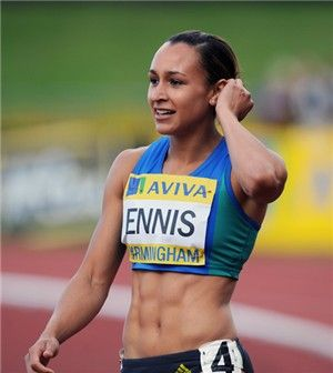 Jessica Ennis, wonderful lady.