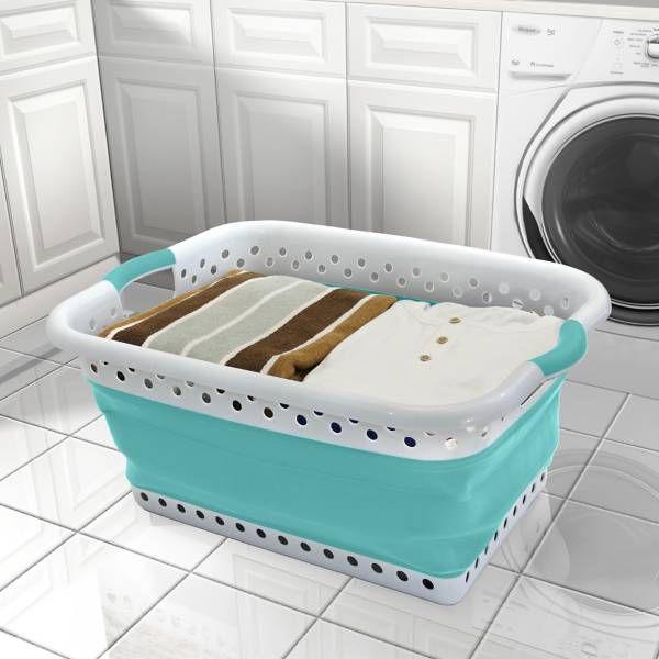 best 25 collapsible laundry basket ideas on pinterest. Black Bedroom Furniture Sets. Home Design Ideas
