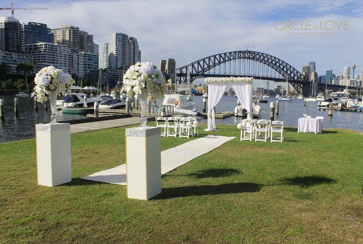 Quirabee Park ~ Lavender Bay Parklands www.circleofloveweddings.com.au