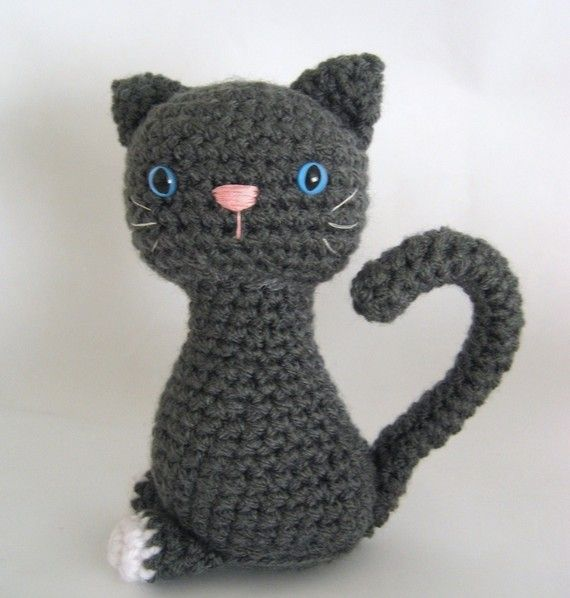 Kitten Crochet Pattern