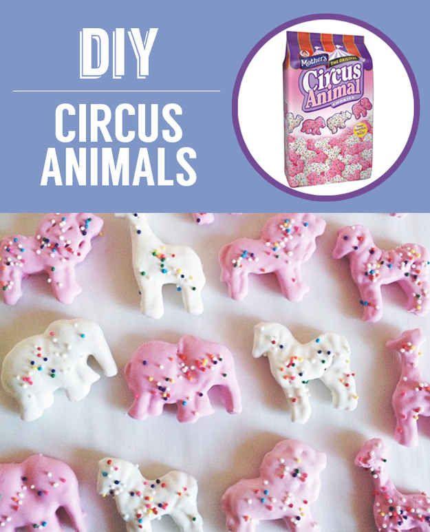 Galletas Circus Animal caseras | 27 bocadillos clásicos que nunca tendrás que comprar de nuevo