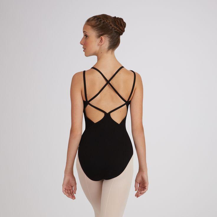 Gorgeous back details <3 // Capezio Lattice-Back Camisole Leotard #ballet #dance