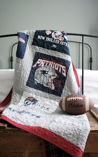 Oh' Brother ! New England Patriots Quilt