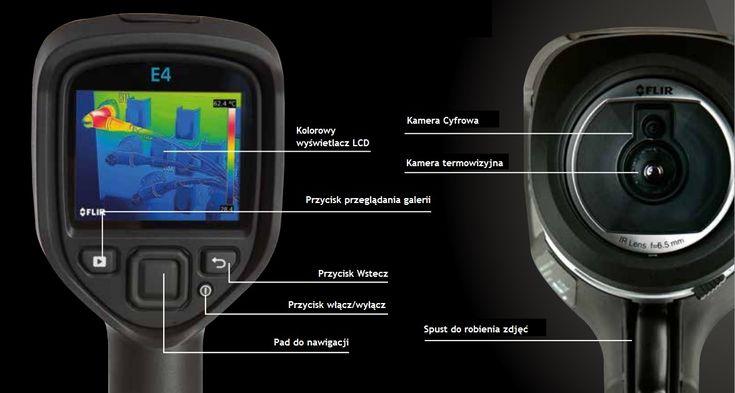 Kamera termowizyjna FLIR z serii Ex E4 E5 E6 E8
