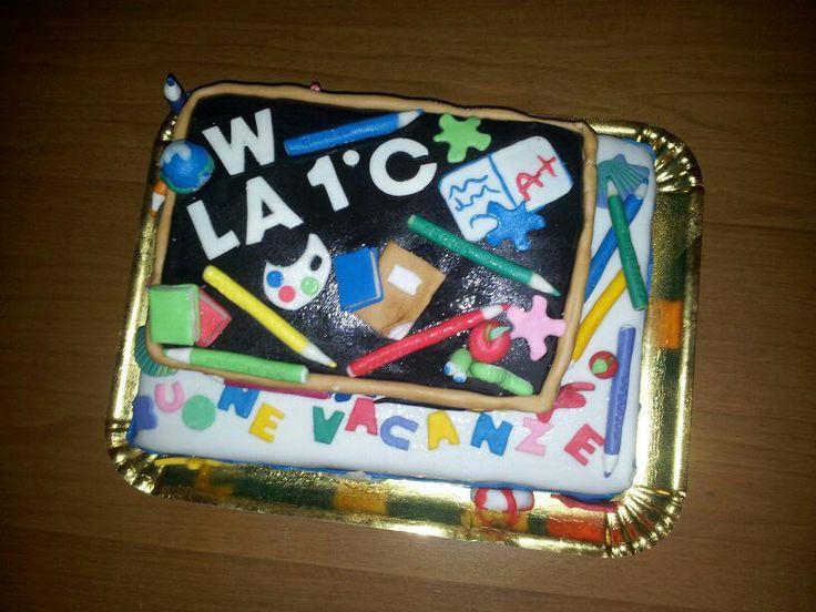 # torta fine anno scolastico