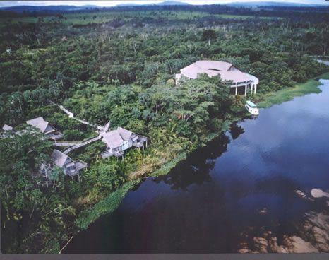 Hotel Pakaas Palafitas Lodge - vista aérea - Rondônia - Brasil