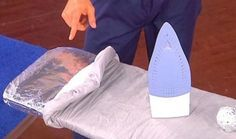 stagnola-stirare 14 sorprendenti utilizzi della carta stagnola per la casa e non solo..