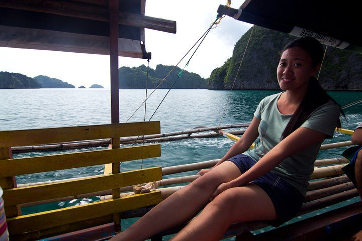 Learned how to drive a boat first! I couldn't believe it! :) Caramoan (062011)