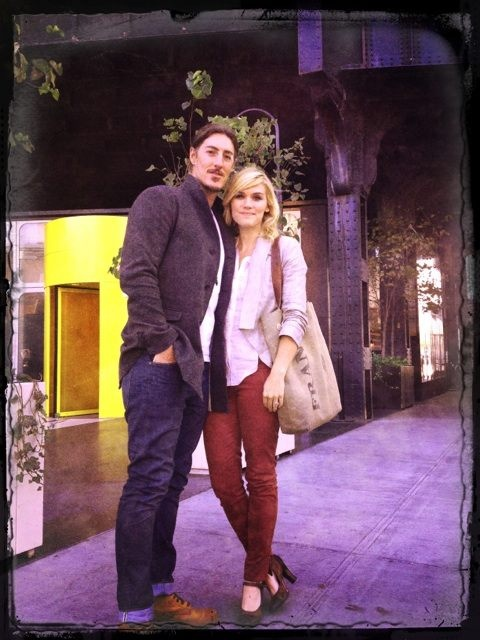 Eric Balfour and Erin Chaiamulon