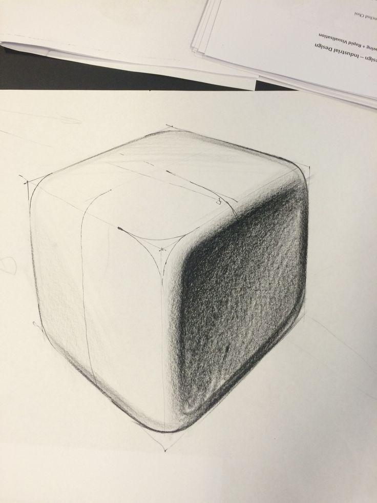 Basic dice block - Industrial Drawing