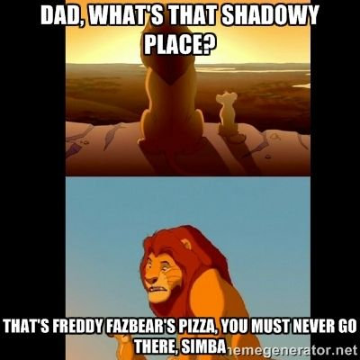 This is how Mufasa died. :( Also so true!!