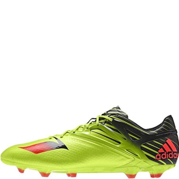 adidas Messi 15.1 FG/AG Semi Solar Slime/Solar Red/Black Soccer Cleats