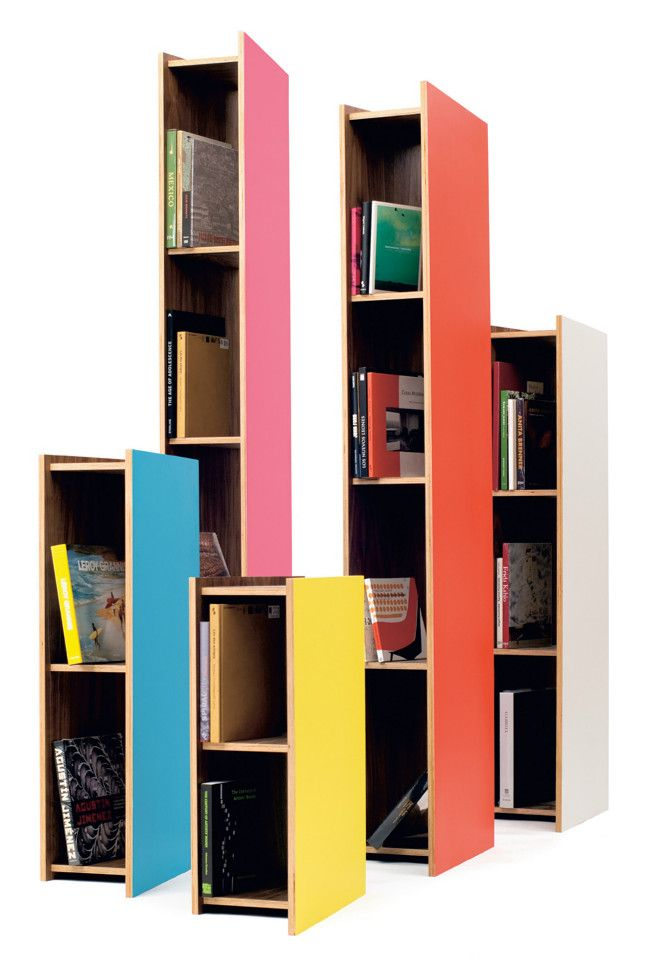 // Torres de Satelite shelves, by NEL