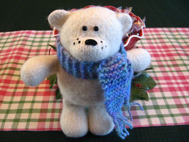 Amigurumi Bear Tutorial : Amigurumi Polar Bear - FREE Knitting Pattern / Tutorial ...