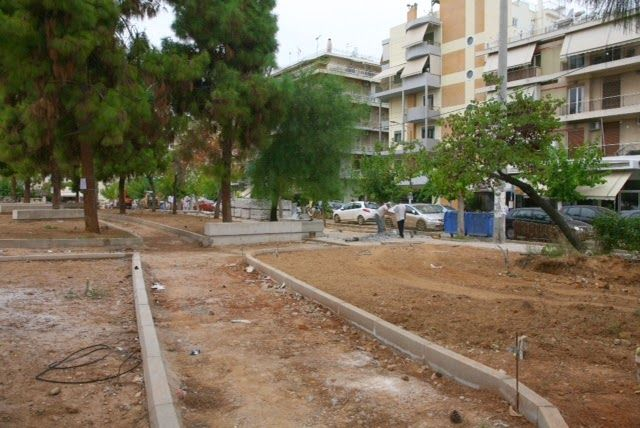 typospor.gr  : Επανεκκίνηση έργων στην πλατεία Πηγάδας
