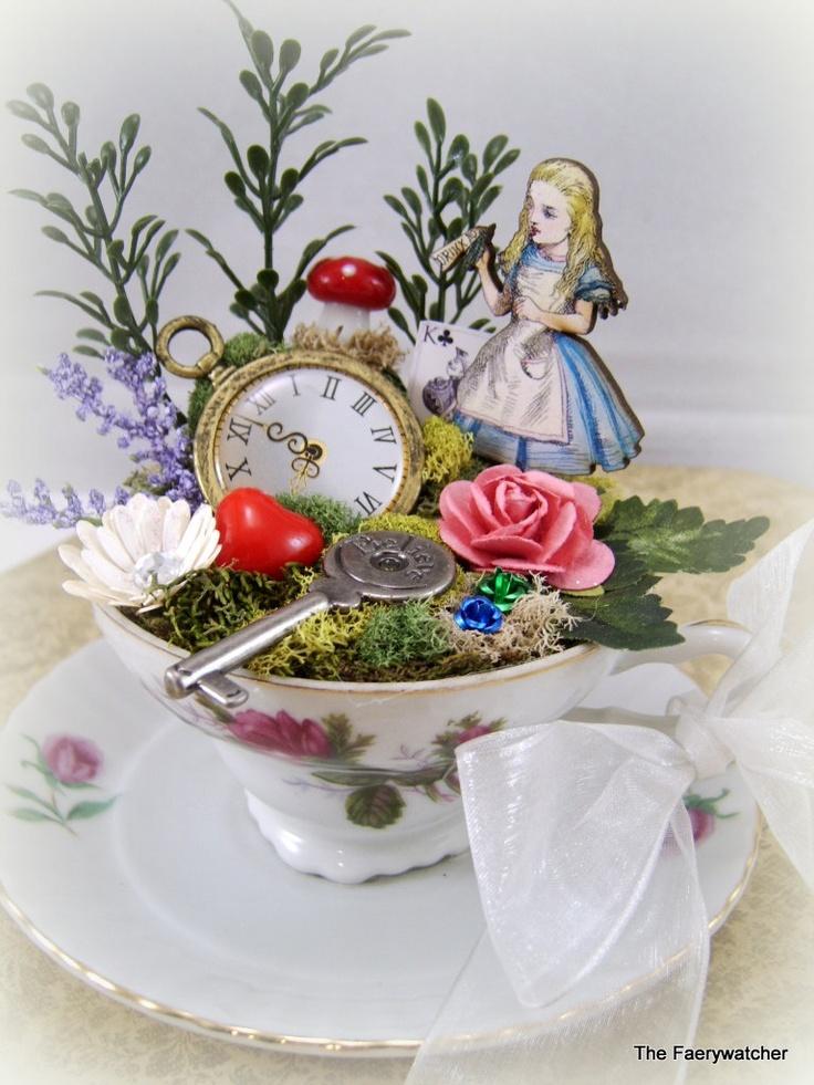 432 Best Alice In Wonderland Dollhouse Images On Pinterest Wonderland Miniatures And