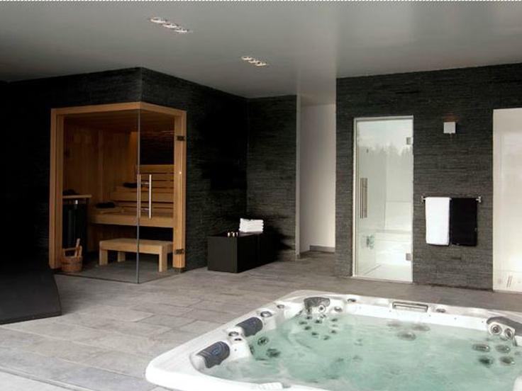 Marmoline natuursteen ledgers strips op de muur in de badkamer sauna badkamer tegeltrends - Badkamer muur tegels porcelanosa ...