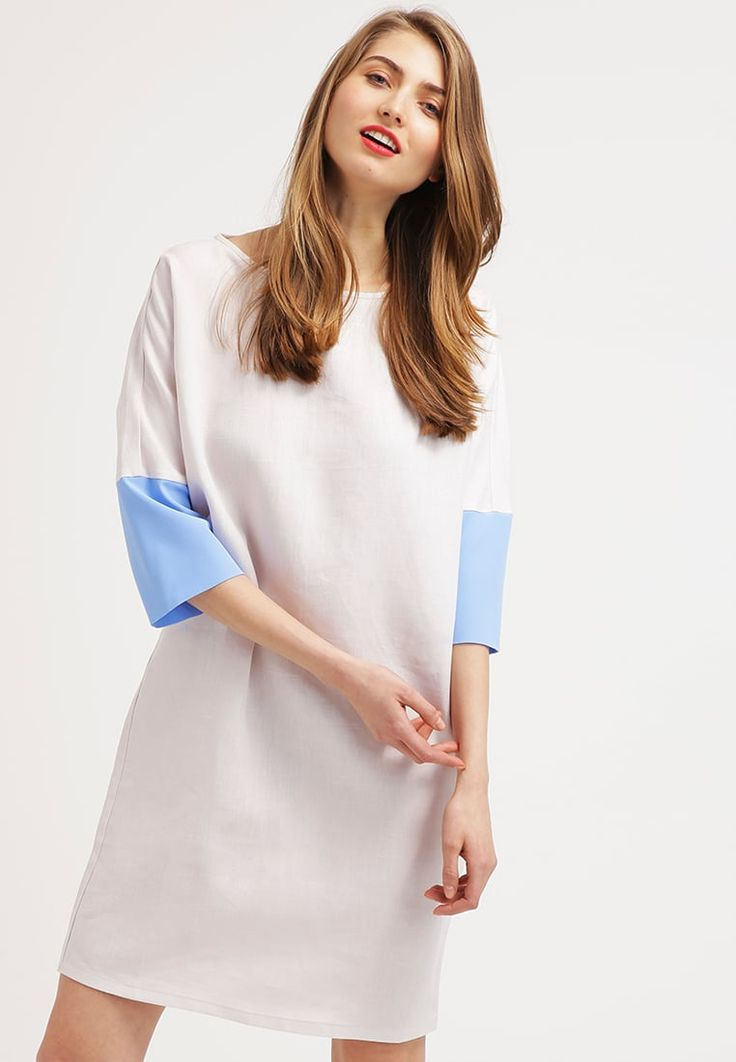 Cara Summer dress - beige/azur for £90.00 (06/04/16) with free delivery at Zalando