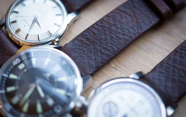 227-Year-Old Russian Reindeer Leather Watch Straps