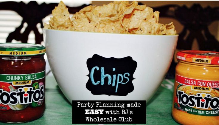 Party Planning Made EASY with BJ's Wholesale Club ad