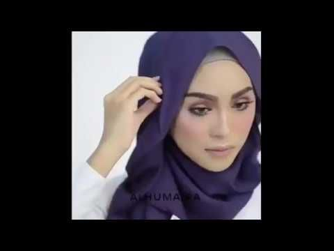 Hijab Tutorial - 16 Model Hijab 2017 Alhumaira - YouTube