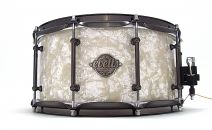 14x6.5 Blackwood Snare Drum - Antique White Pearl