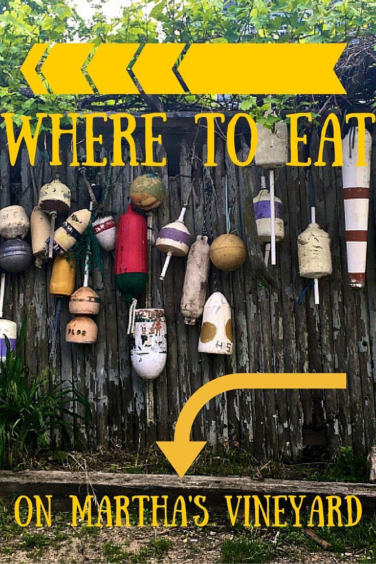 Wondering where to eat on Martha's Vineyard? I've got tips!