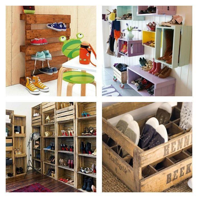 20 Formas De Ordenar Los Zapatos Ordenador De Zapatos Como Organizar Zapatos Muebles Para Zapatos