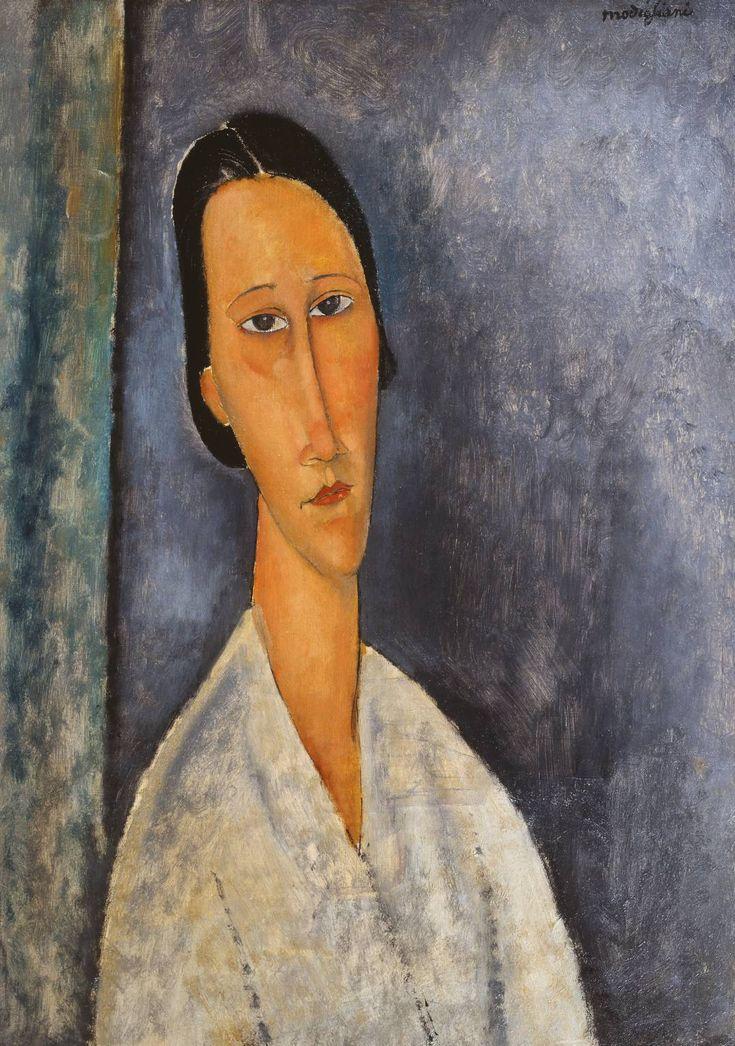 Amedeo Modigliani, Madame Zborowska, 1918, Oil on canvas, 64,5 x 46 cm, Tate Modern, London