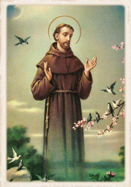 Santa María, Madre de Dios y Madre nuestra: San Francisco de Asís, 4 de Octubre