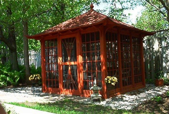 46 best images about tiny tea house on pinterest for Japanese garden shed