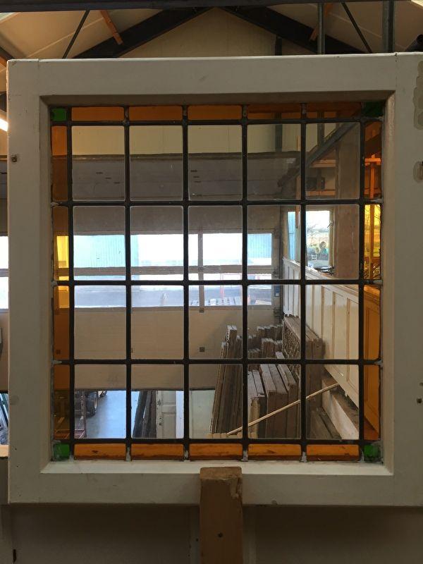 nr. gl151/2 glas in lood raam