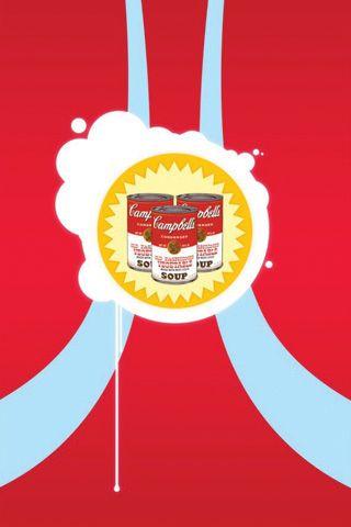 Campbell Soup ArtiPhone Wallpaper