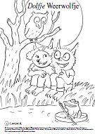 Zwijsen Ouders - Kleurplaat met Dolfje Weerwolfje