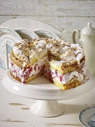 Das Rezept für Himbeer-Baiser-Torte und weitere kostenlose Rezepte auf LECKER.de