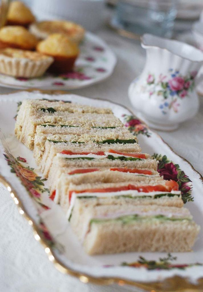 134 best high tea images on pinterest petit fours for Club sandwich fillings for high tea