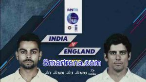 India vs England 2nd Test Live Telecast TV & Streaming Online