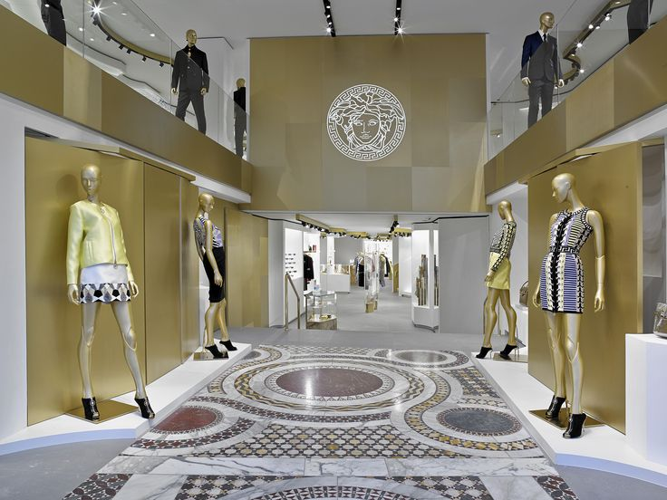 45 best images about versace boutiques on pinterest english hong kong and - Magasin design barcelone ...