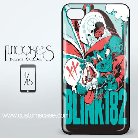 Blink 182 Inside The Rock iPhone 4 or 4S Case Cover from Funcases