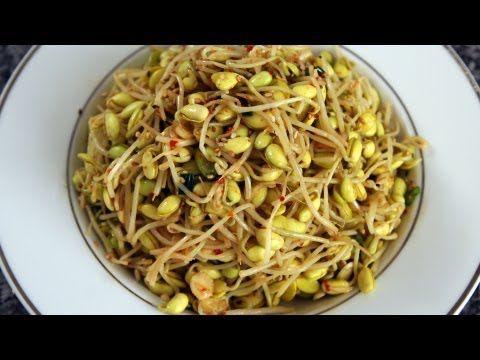 Soybean sprout side dish (Kongnamul-muchim) recipe - Maangchi.com