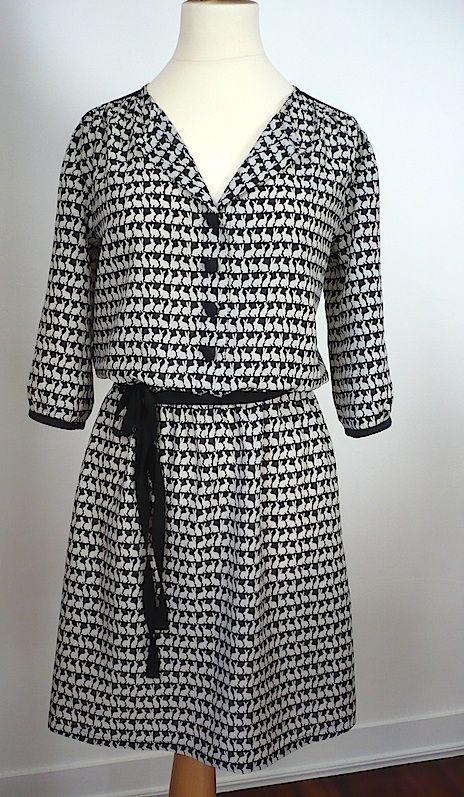 Couture | Chisana dotto Patron : robe Agnès de Coralie Bijasson « C'est moi le patron »